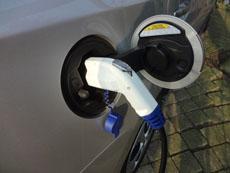 Stroom tanken met de Prius Plug-in