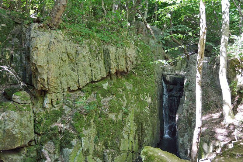 Waterval in de Kobbe