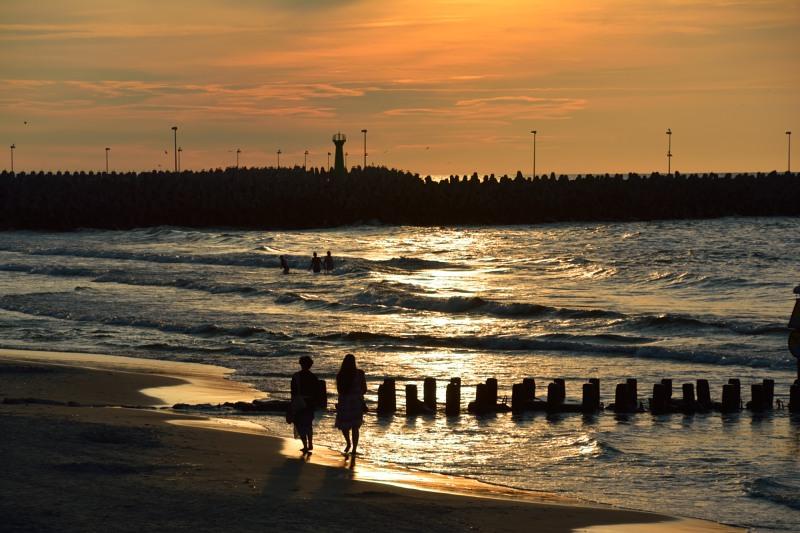 Strand van Ko?obrzeg