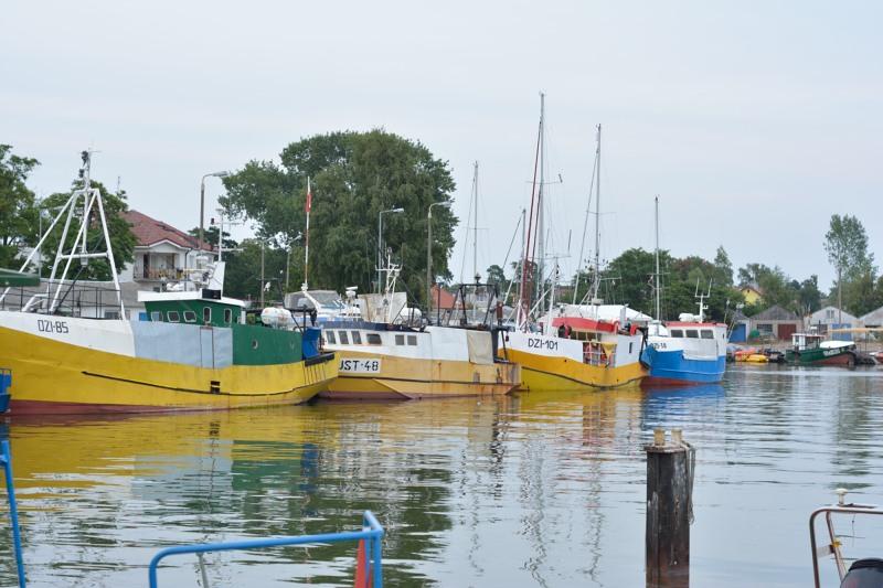 Vissershaven van Dziwnów