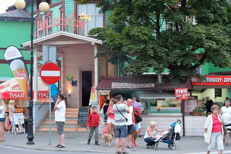 Winkelstraat in Dziwnów