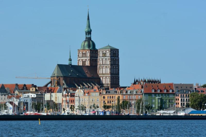 Stralsund vanaf zee