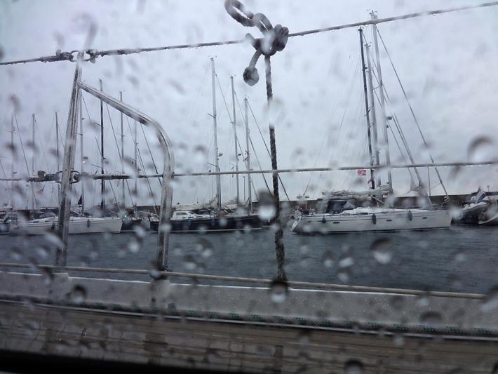 Aankomst Flottilje