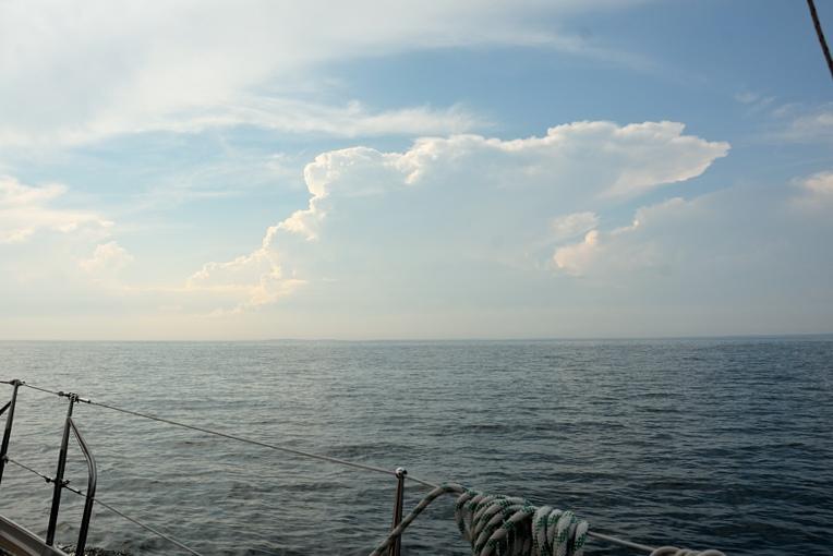 Onweersbuien aan de horizon