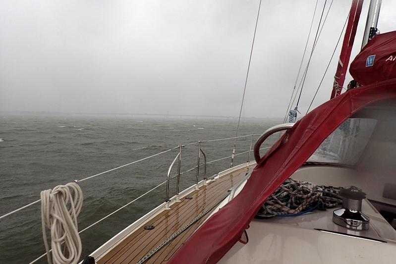 Veel wind en regen