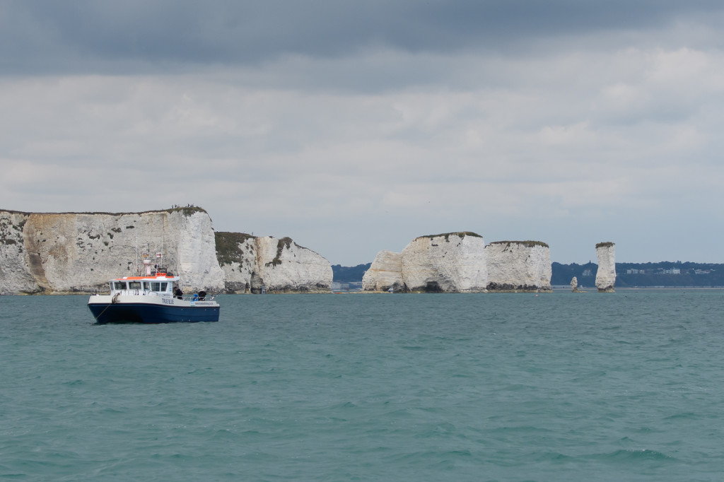 Old Harry Rocks bij Poole