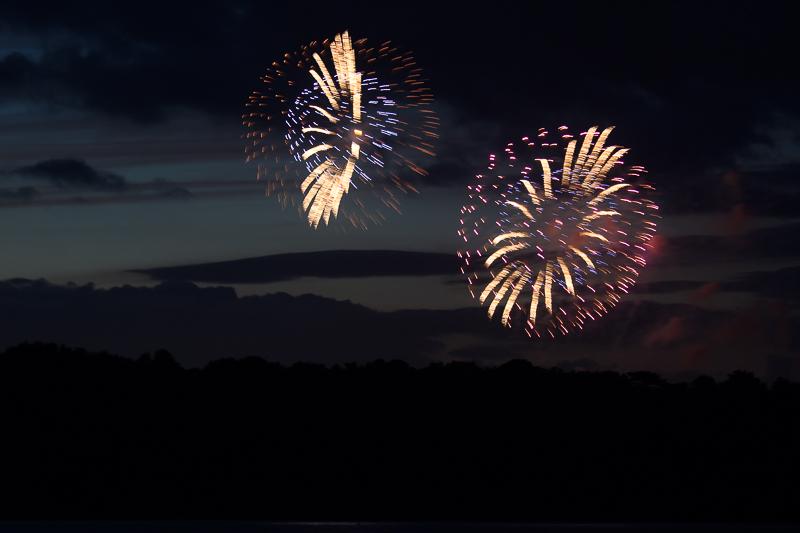 Vuurwerk in Poole