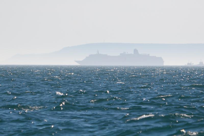 Cruiseschip voor Isle of Wight