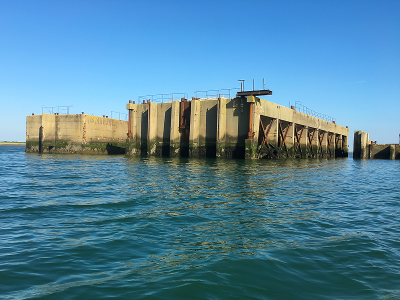 Caissons in de Schelphoek