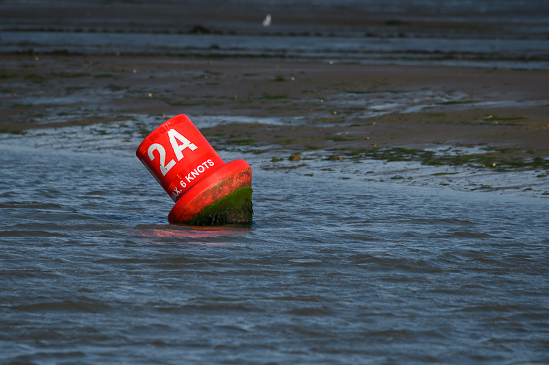 Laag water in Bembridge Harbour