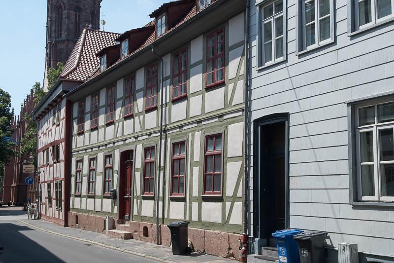 Vakwerkhuizen in Göttingen