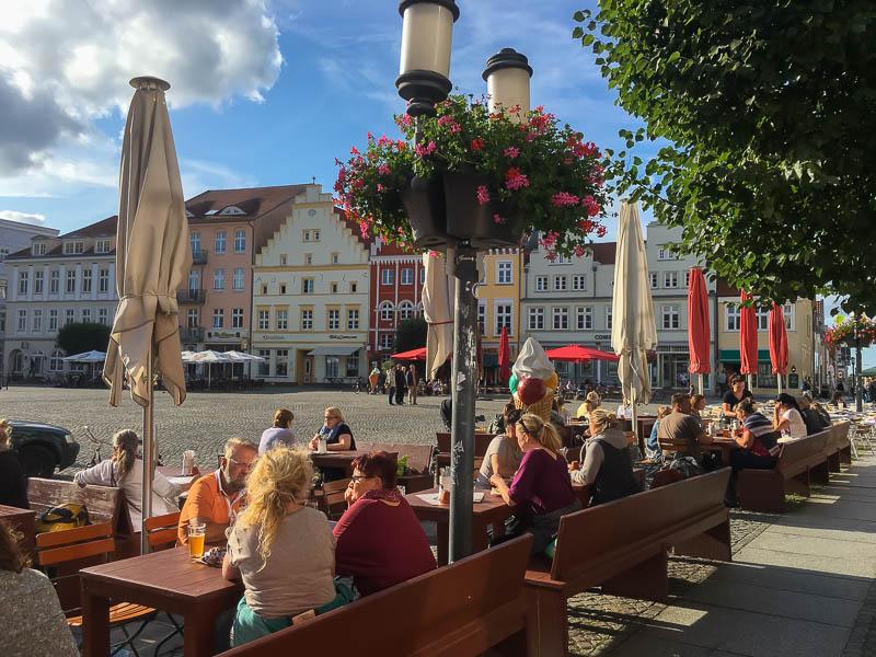 Marktplein Greifswald