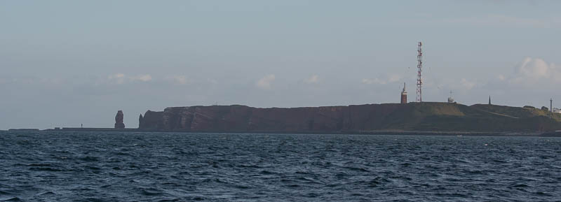 Vertrek Helgoland