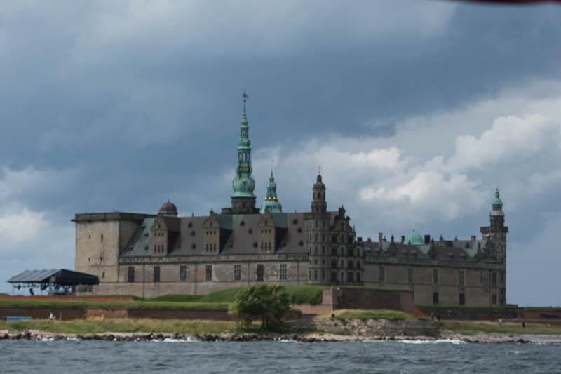 Kronborg Kasteel in Helsingor