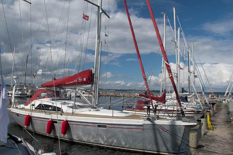 De haven van Lyø