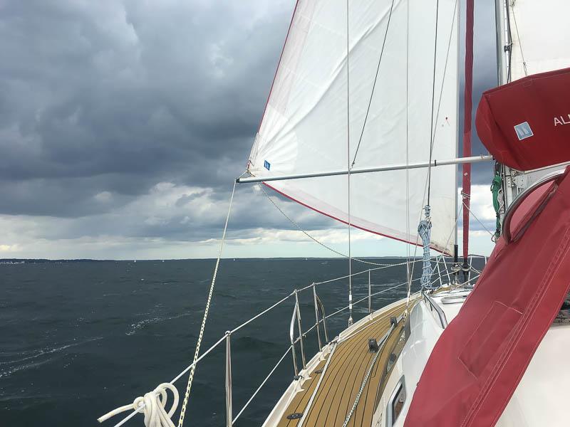 Zon, Regen en Wolken