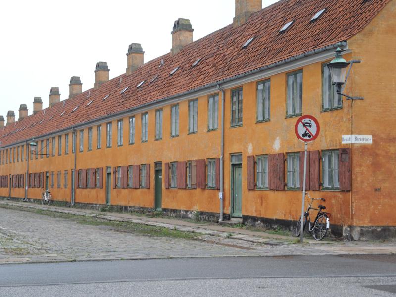 Woningen voor gepensioneerde zeelieden